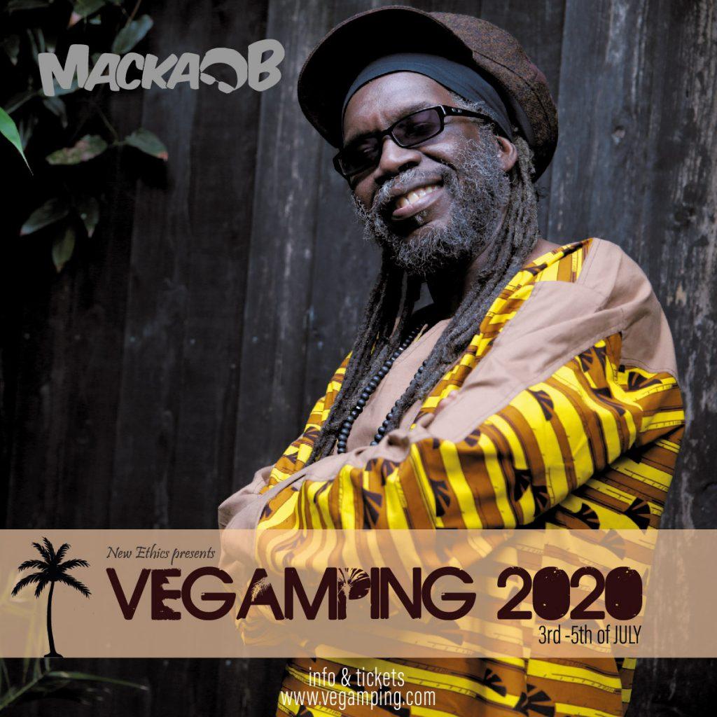 Macka B - Vegamping 2020 Belgium vegan festival
