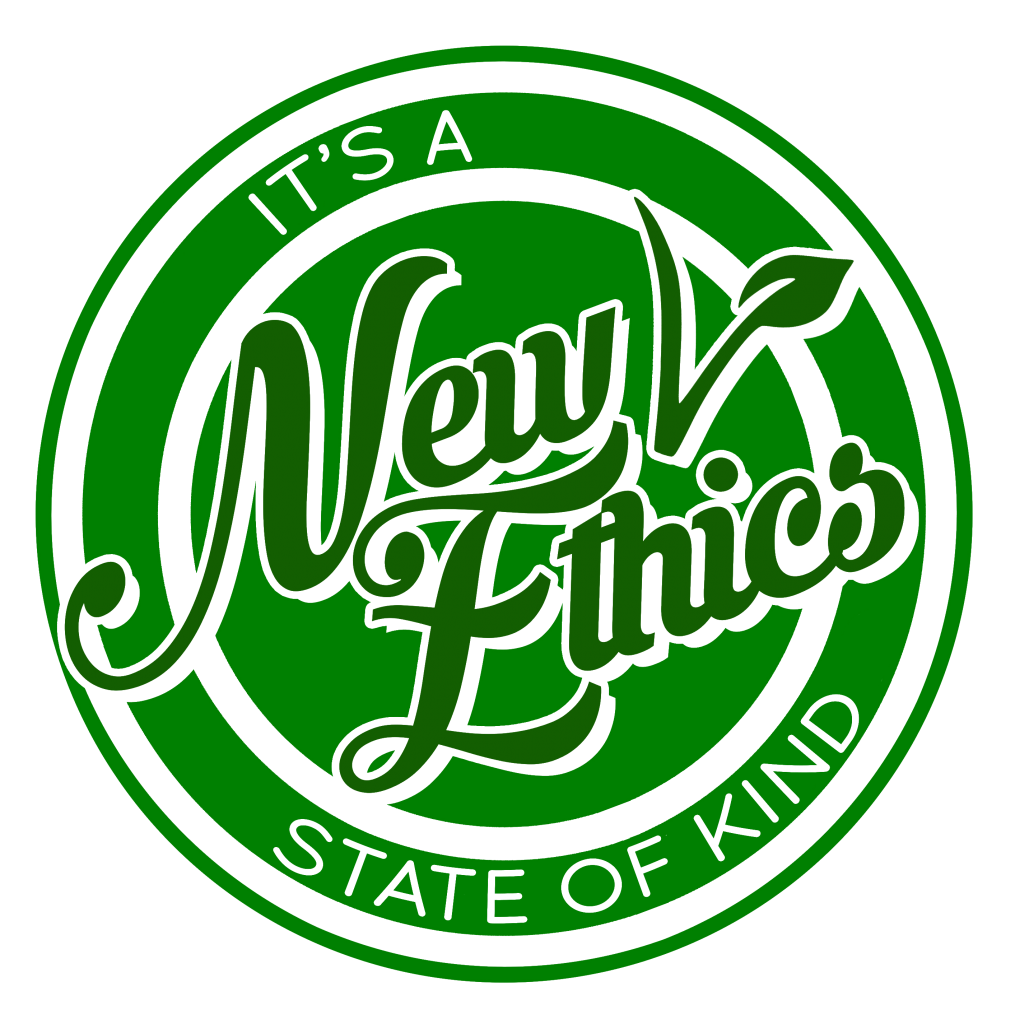 New Ethics It's a state of kind - logo